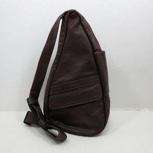 AmeriBag Classic Leather Healthy Back Bag